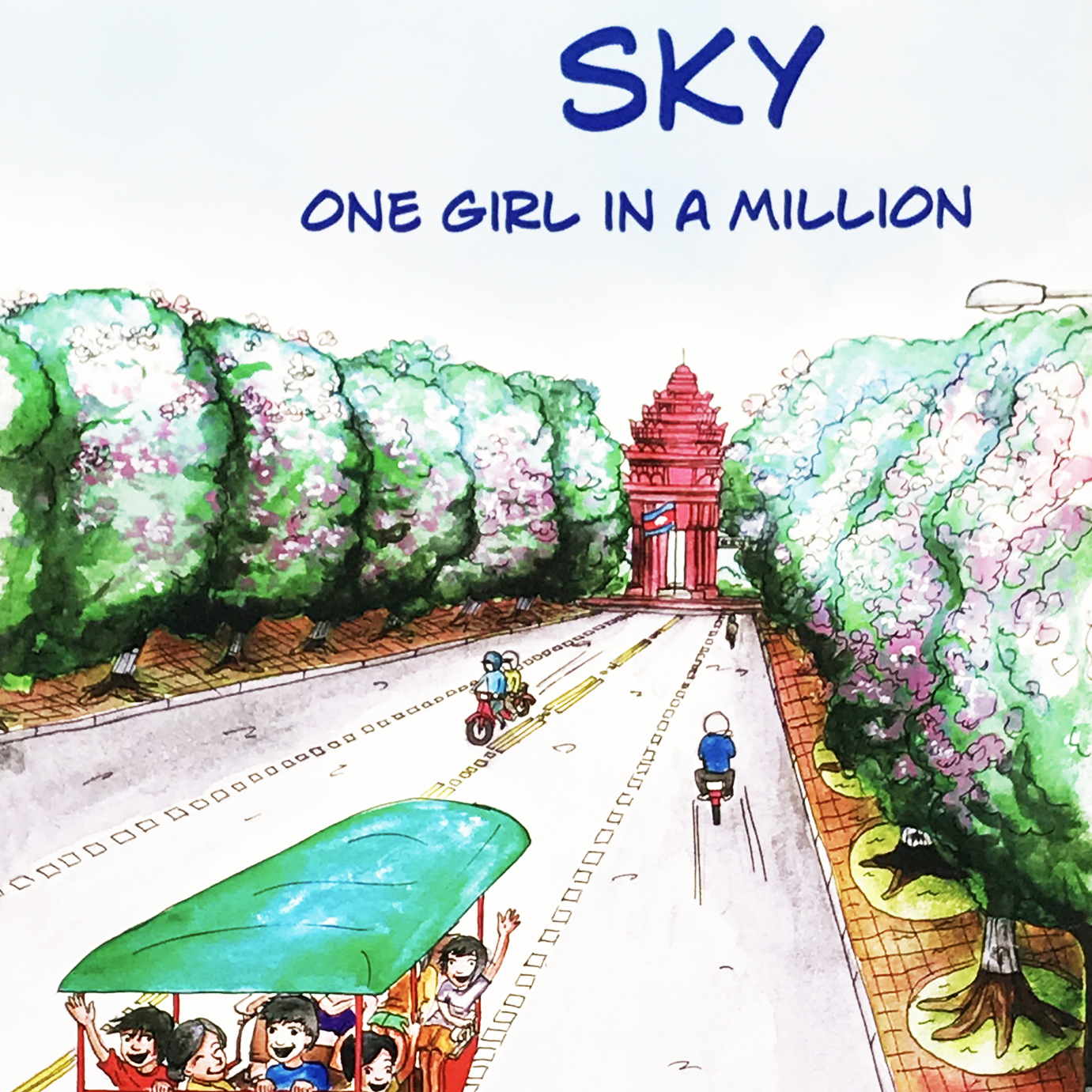 SKY, ONE GIRL IN A MILLION (English)